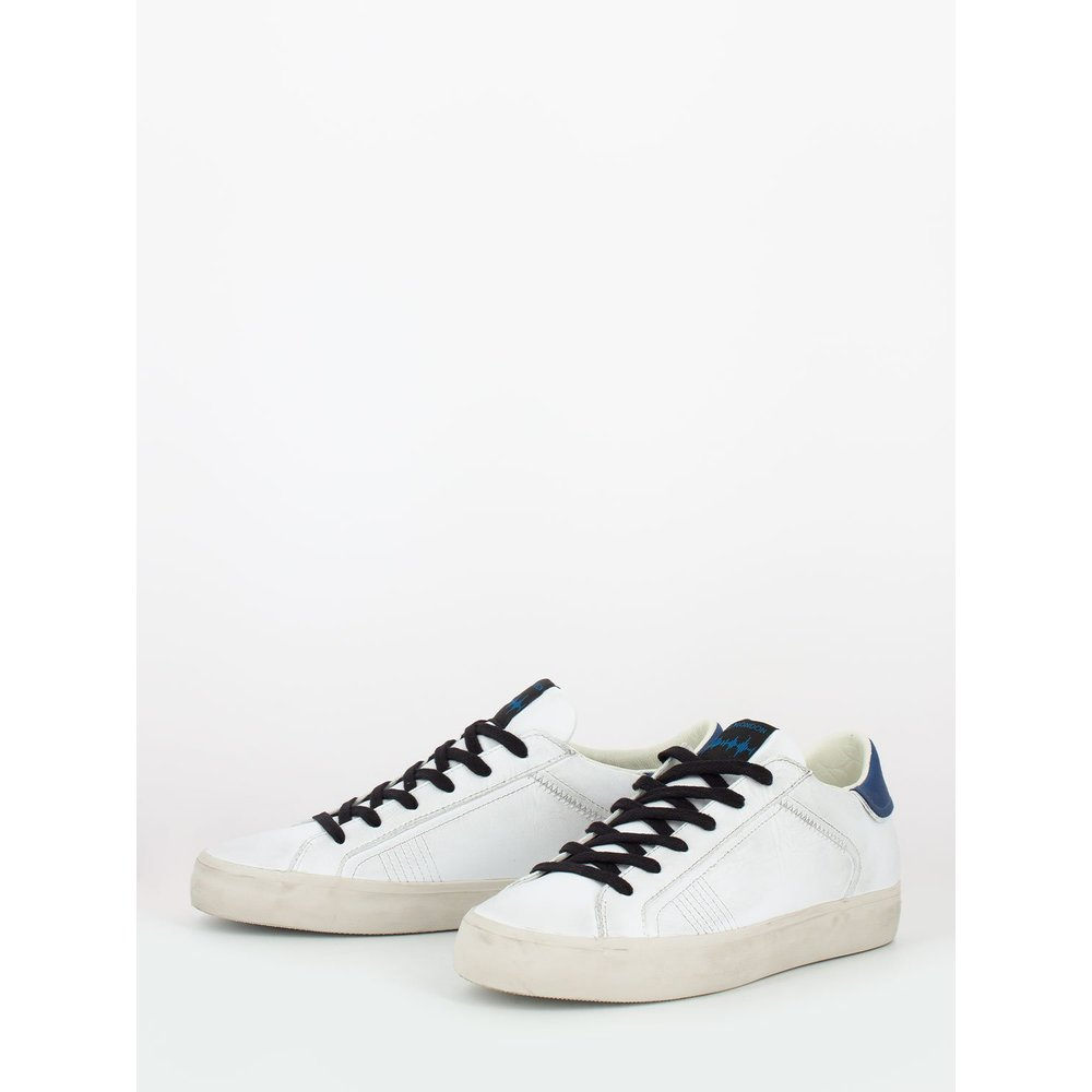 White Low top distressed | Crime | Sneakers | Herenschoenen