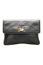 Carriage Leather Clutch Bag