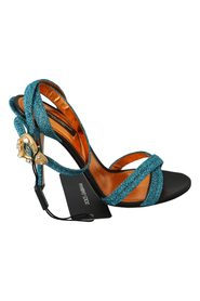 Crystal Heart Sandals Skor