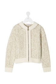 TRICOT CARDIGAN SWEATER