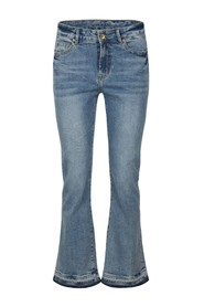 Bootcut Cropped Jeans