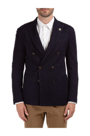 men's double breasted jacket blazer  liknit