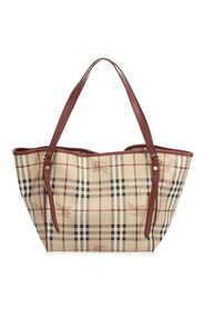 Haymarket Check Canterbury Coated Canvas Tote Bag