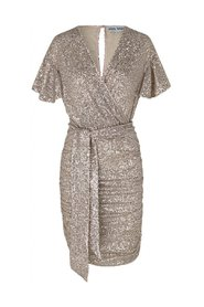 ALINA DRESS - Champagne Sequins