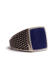 ring with square with stones