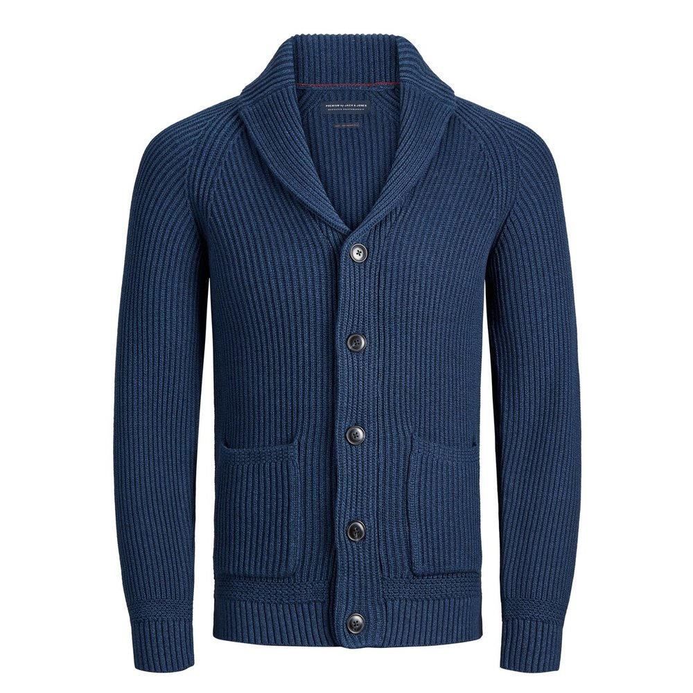Knitted Cardigan Shawl neck