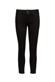Sort Lee Scarlett Cropped Jeans