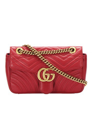 Small Marmont Leather Shoulder Bag
