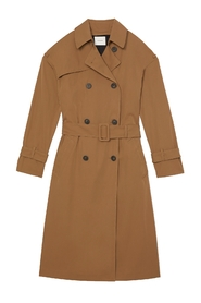 Jacket Belted Tech Trench