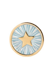 Guidance Coin Ocean Gold Ring