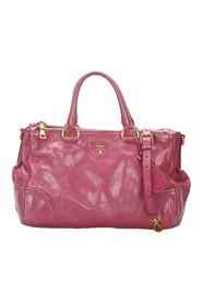 Vitello Shine Satchel Leather Patent