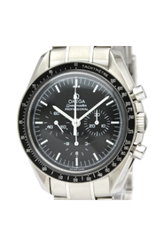 Pre-owned Speedmaster Mechanical Stainless Steel Sports Watch 3574.51