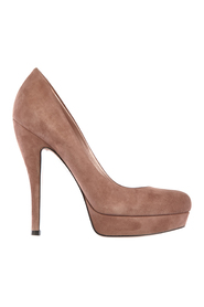 women's suede platform pumps court shoes heel