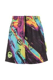 Shorts with All Over Print