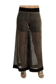 Pantalone cangiante in rilievo