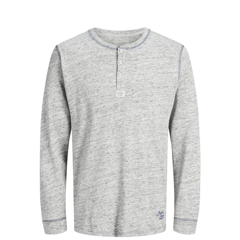 Long-Sleeved T-shirt Granddad style LS
