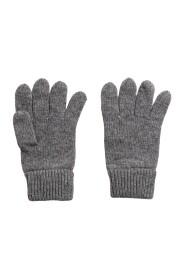 Knitted Wool Gloves Hansker