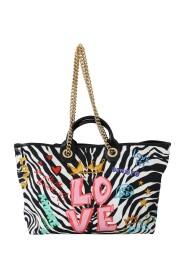 Zebra Amore Bellezza Patch Tote CAPRI Bag