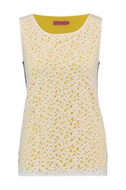 Studio Anneloes 02149 Race lace top Off white