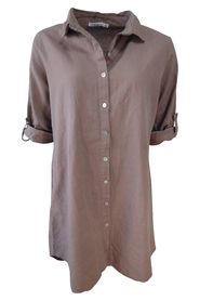 Large shirt in linen 1151