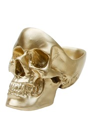Skull Tidy Golden Organiser