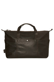 Weekend bag L in leather with