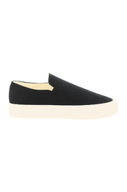 Marie h canvas slip-on sneakers