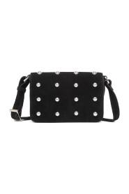 Asta Black Marino Shoulder Bag