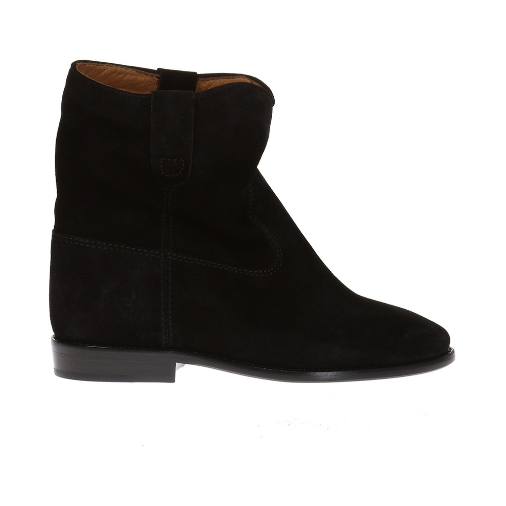 BLACK 'Nowles' built in wedge shoes | Isabel Marant