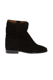 Crisi' wedge boots