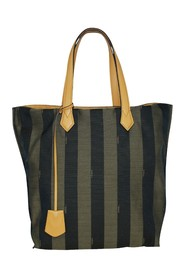 Tote with Calfskin Top Handles