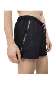 CALVIN KLEIN KM0KM00272 SHORT DRAWSTRING swimsuit  sea and pool Men BLACK
