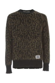 SWEATER CREW NECK ALTON ANIMALIER