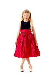 kjole i fløyel