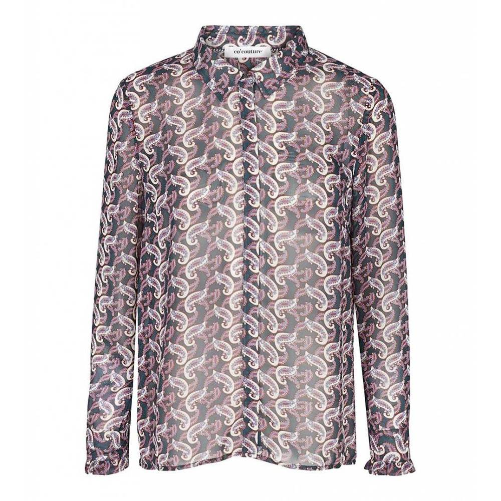 Co Couture Dames 75975 New Florence Spunk Blouse Print