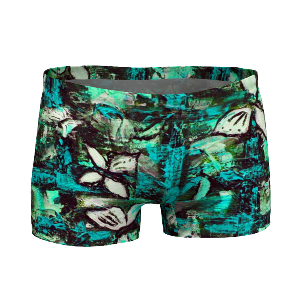 Unique things by Lingmerth Shorts Dam Teal