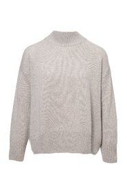 Mock Cashmere Sweater