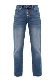 Jeans med logo