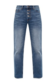 Jeans z logo