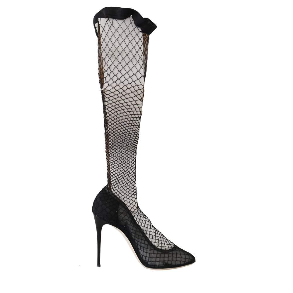 Netted Sock Pumps