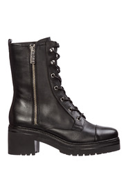 women's leather ankle boots booties anaka