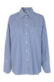 Navy Blazer Day Day Springtime Skjorte