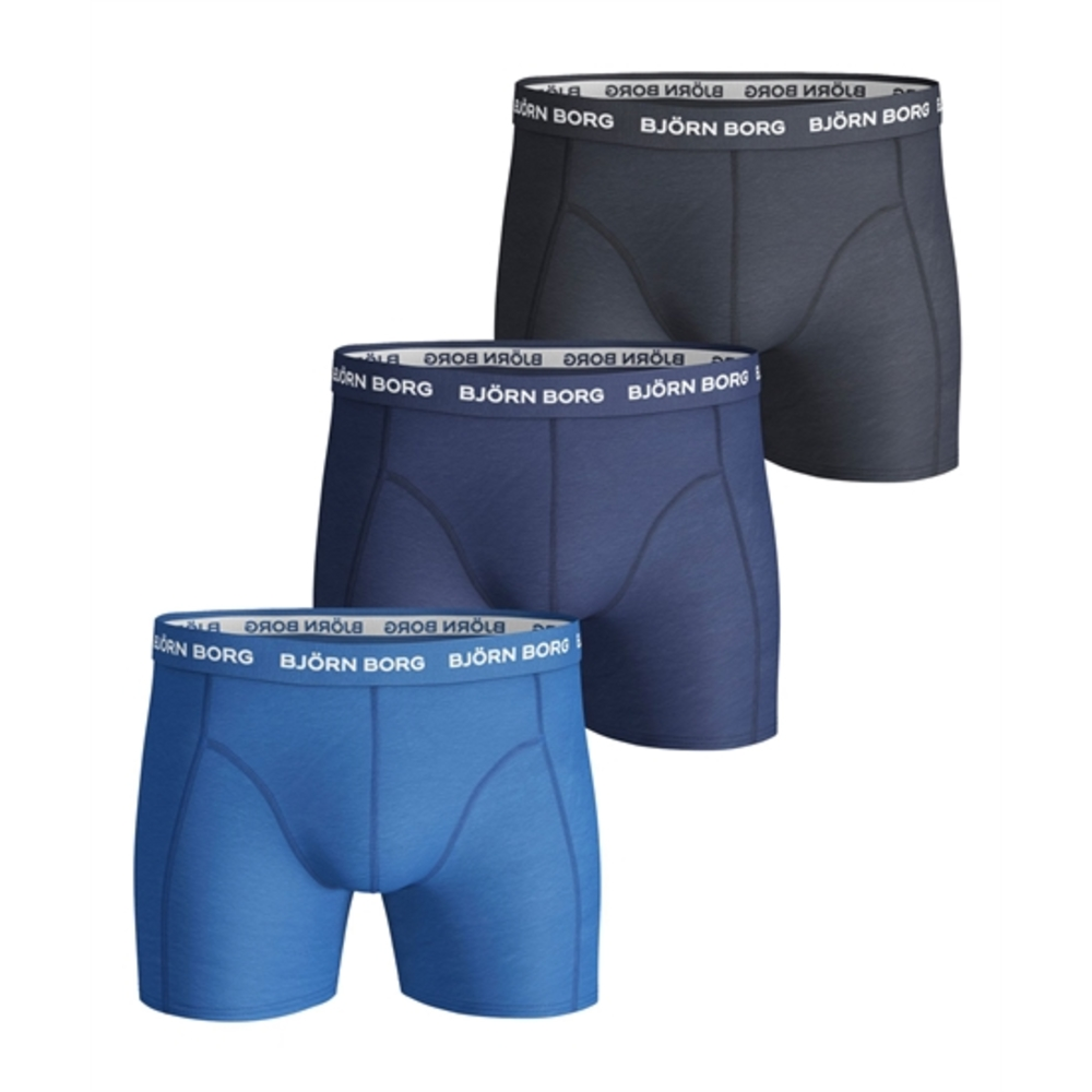 Solid shorts 3 pack