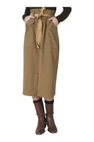 Longuette vita a sacchetto skirt