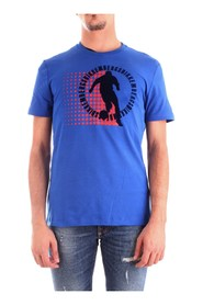BIKKEMBERGS C70013HE1823 T-SHIRT Men BLUE