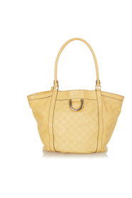 pre-owned Abbey D-Ring Tote Bag Leather Calf