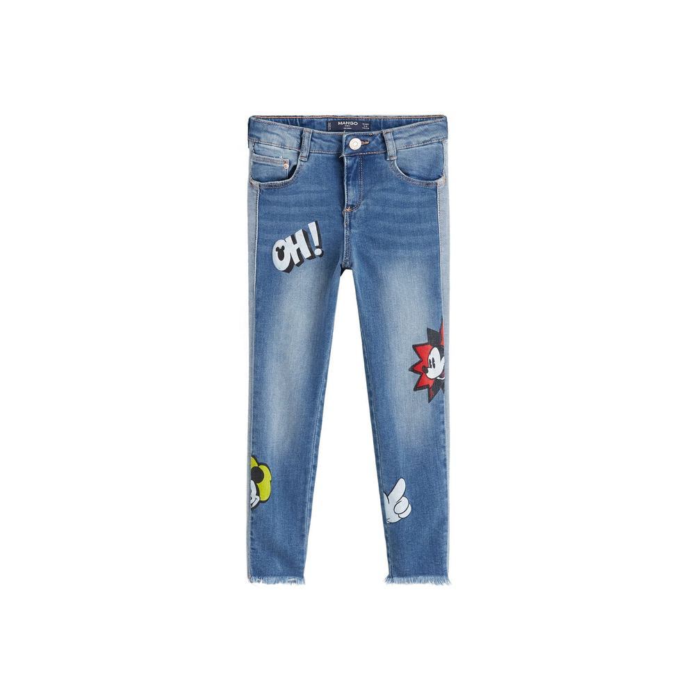 Jeans skinny Mickey Mouse