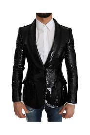 Sequin Shiny Slim Blazer