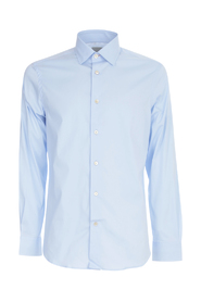 TAILORED FIT STRETCH POPLIN SHIRT