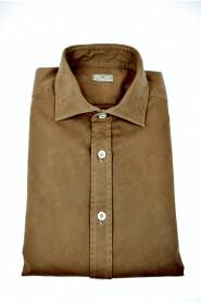 Baumwollhemd aus Gabardine